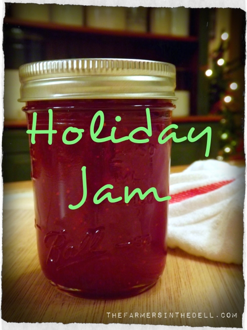 holiday jam - TheFarmersInTheDell.com