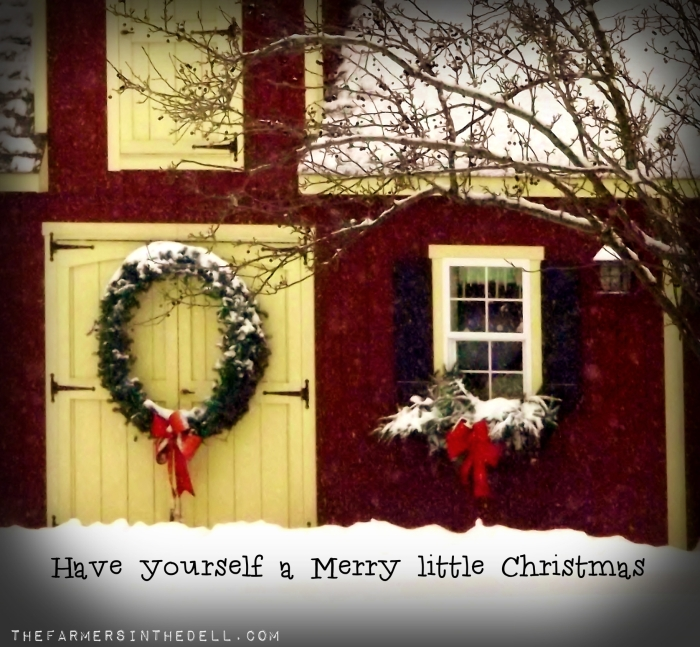 merry christmas - TheFarmersInTheDell.com