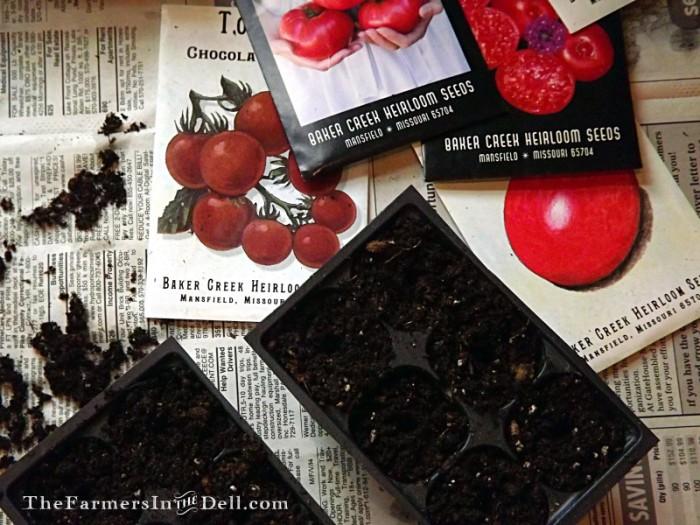 heirloom seeds - TheFarmersInTheDell.com