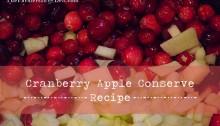 cranberry conserve - TheFarmersInTheDell.com