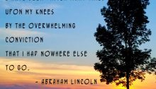i have been driven many times upon my knees - TheFarmersInTheDell.com