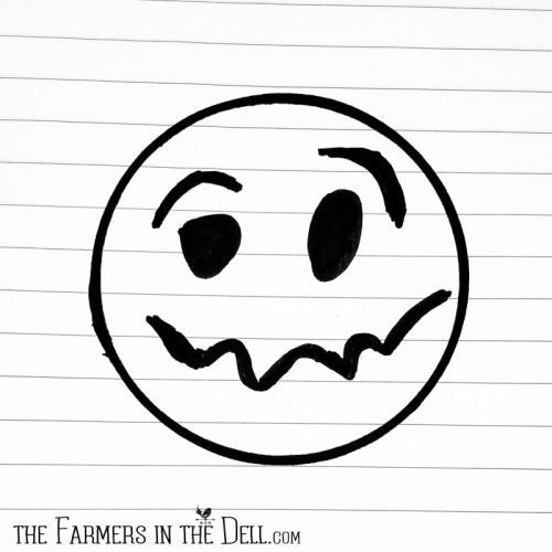 anxiety face - TheFarmersInTheDell.com