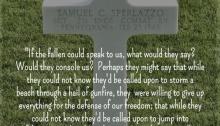 Sgt Samuel Sperlazzo - Netherlands American Cemetery